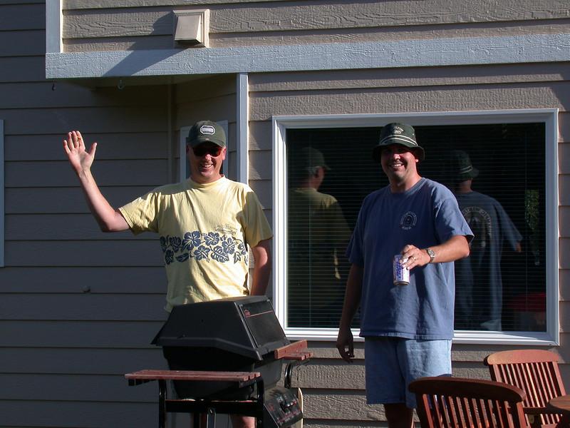 Steve and Greg