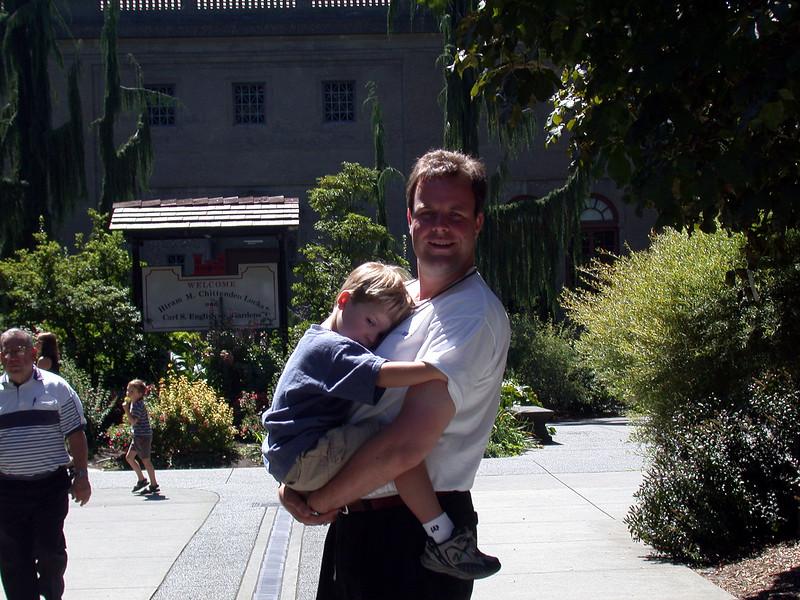Brice and me at the Ballard