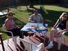 At the BBQ at Greg and Amy