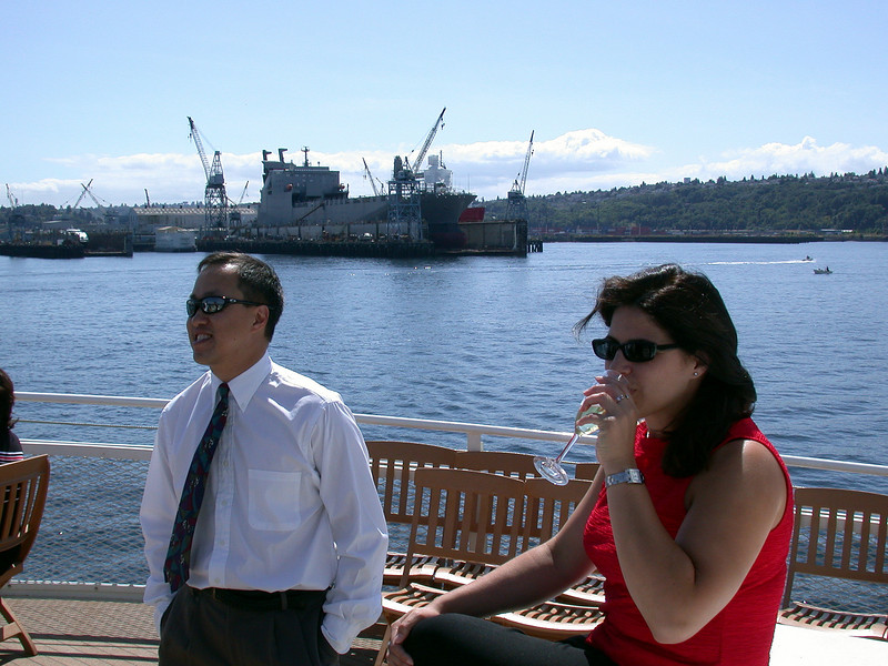 Tom and Cristina