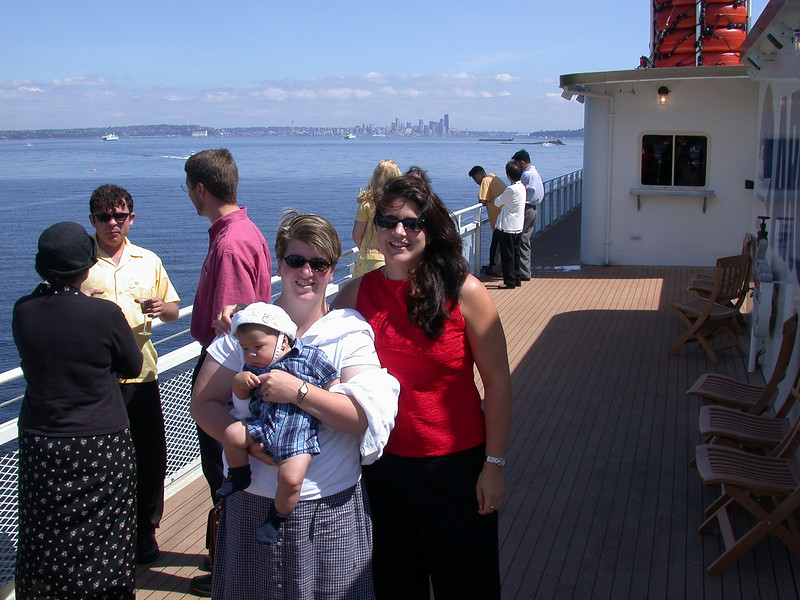 Pierce, Amy and Cristina
