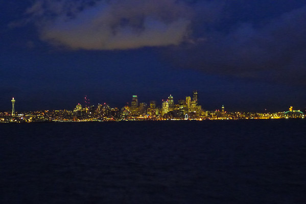 Seattle Skyline Dec 7, 2012