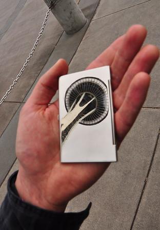 Needle in my hand