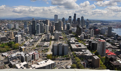 Seattle from the top