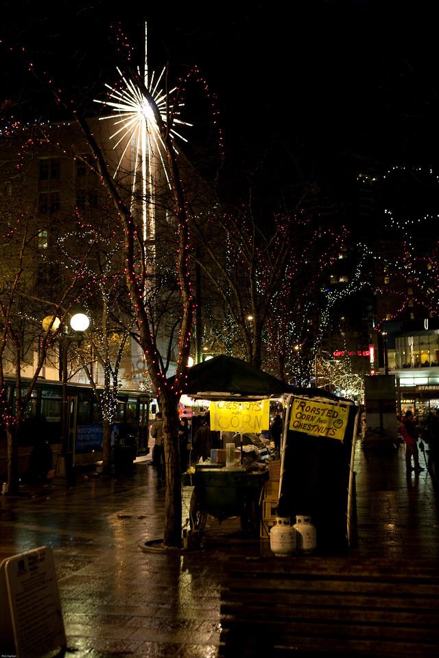 Christmas, Street Venders