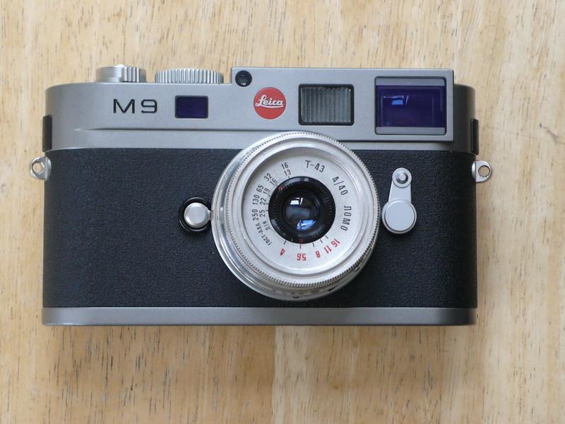 Leica M9 & Lomo 40mm Lens