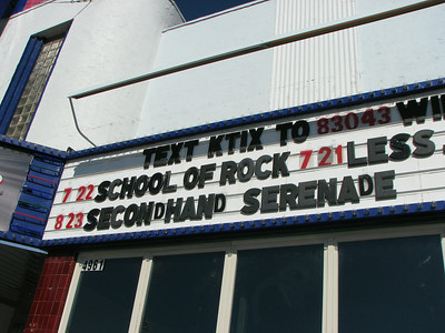 Secondhand Serenade, Rookie of the Year, et al. Aug. 23, 2008