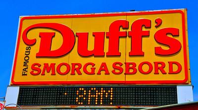 Duff' Smorgasbord