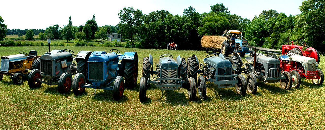 Tractor pano 8x20