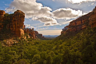 That mesa -- out there / Fay Canyon, Sedona, AZ
