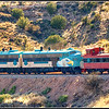 Verde Valley Railroad that runs from Cottonwood to Perkinsville