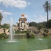 Cascada fountain at the Parc de la Citadella in te La Ribera district, Barcelona, Spain NO