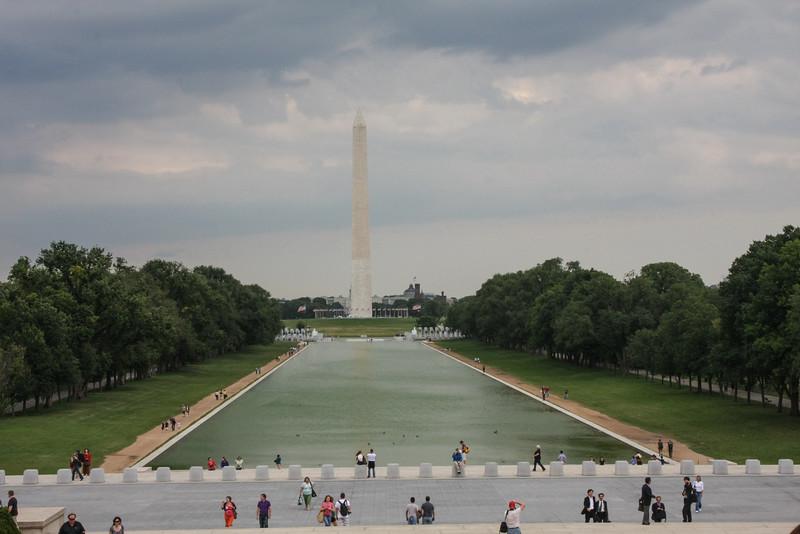 Washington Monument and Reflecting Pool, Washington DC NO