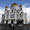 Cathedral of Christ Our Savior, kropotkinsky district, Moscow, Russia