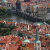 St. Vitas Cathederal, South Tower views, Hradcany, Prague, Czech Republic NO