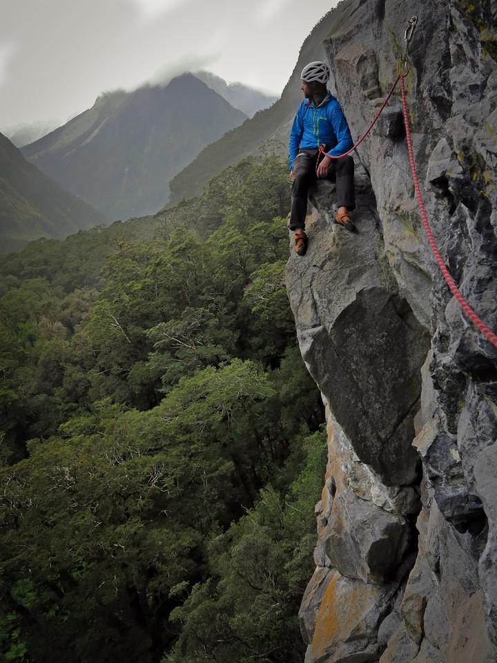 Mark near the Chillout Ledge