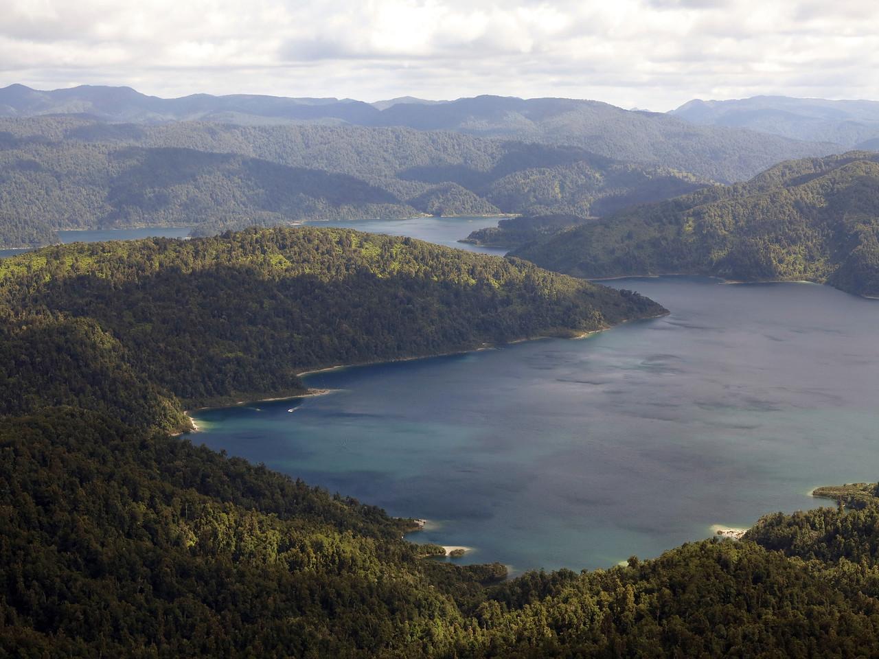 Lake Waikaremoana from Panekuri Hut