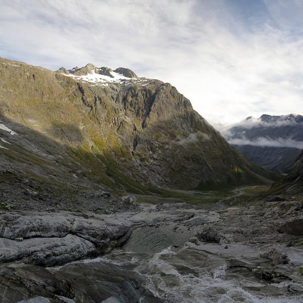 View of Crosscut below Black Lake