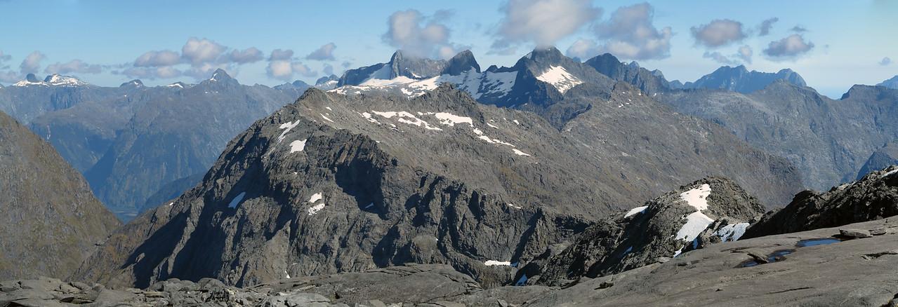 View west from Gulliver Peak