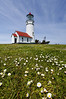 Cape Blanco Lighthouse.  Central Oregon coast.