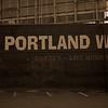 Portland Oregon in Sepia