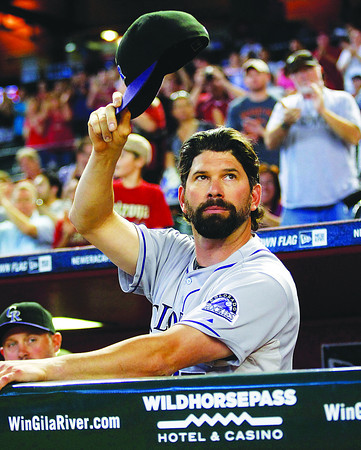 Helton Retiring Rockies Diamondbacks Baseball