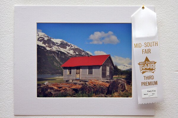 3rd place winner at the Mid-South fair in the Scenery Category, photo by Gary Cox
