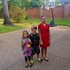 First day of school.  Vivian-PreK, Little People's Preschool.  Zane-2nd grade, Jack Elementary. Vanessa-6th grade, Moore MST Middle School.