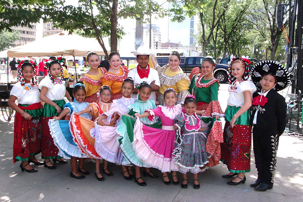 Anderson Ballet Folklorico at Fiesta Indianapolis Festival<br /> <br /> Photographer's Name: Tanya Gonzalez<br /> Photographer's City and State: Anderson, IN