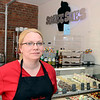 Susan Dunckel, owner of Sweet Sues 203 River  Street Friday, August 30, 2013 in Troy, N.Y.. (J.S.CARRAS/THE RECORD)