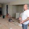 Dan Warner shows renovations to 13 108th Street Thursday, August 29, 2013 in Lansingburgh, N.Y.. (J.S.CARRAS/THE RECORD)