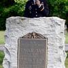 Col. Lee H. Schiller, Jr., U.S. Army, Commander Watervliet Arsenal speaks during 55th Memorial Anniversary honoring Uncle Sam Wilson of Troy, N.Y., Saturday, September 14, 2013 in Oakwood Cemetery in Troy, N.Y.. (J.S.CARRAS/THE RECORD)