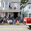 People line parade route during the 38th annual Uncle Sam Parade Sunday, September 15, 2013 on Fifth Avenue in Lansingburgh, N.Y.. (J.S.CARRAS/THE RECORD)