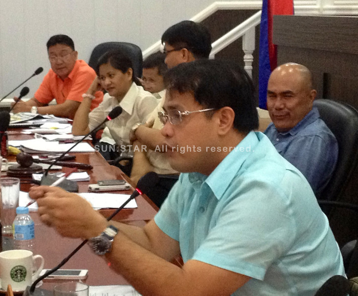 Pampanga Vice Governor Dennis Pineda in health committee hearing