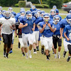 La Salle Institute football team runs during practice Monday, August 26, 2013  at the school in Troy, N.Y.. (J.S.CARRAS/THE RECORD)