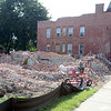 Buildings being cleared on on Twenty-third Street to make room for new Price Chopper Plaza  Friday, August 30, 2013 in Watervliet, N.Y.. (J.S.CARRAS/THE RECORD)
