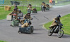 Purple Helmets Wheely-bin chariot race at Grampian Motorcycle Convention - 4th September 2016