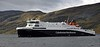 Loch Seaforth approaches Ullapool on Monday 5th September 2016