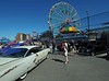 Old cars at Coney Island