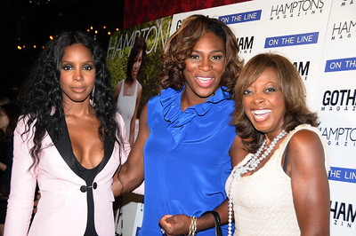 Kelly Rowland, Serena Williams, Star Jones  photo by Rob Rich © 2009 robwayne1@aol.com 516-676-3939