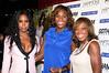 Kelly Rowland, Serena Williams, Star Jones<br /> <br /> photo by Rob Rich © 2009 robwayne1@aol.com 516-676-3939
