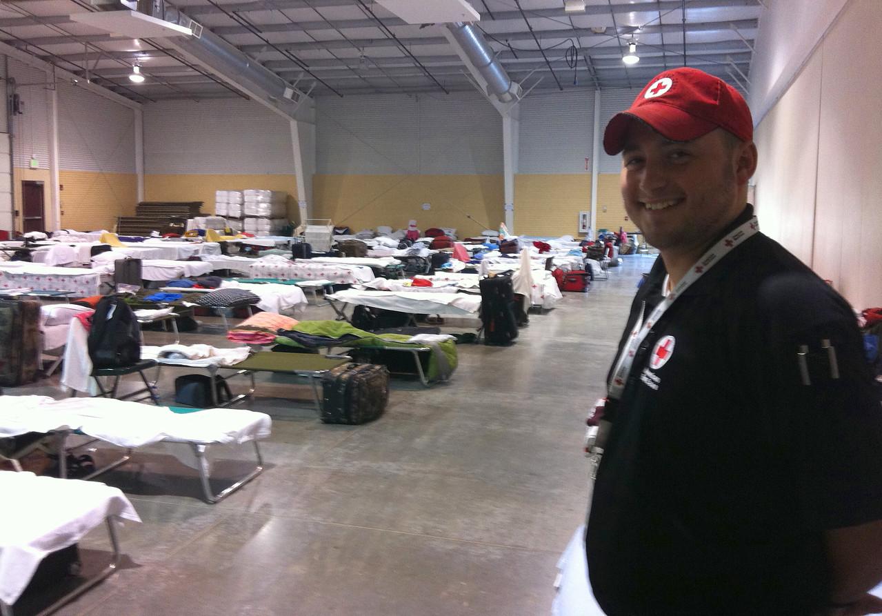 North Colorado American Red Cross Response Center in Loveland, CO.