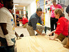 President Obama serves alongside Corporation for National and Community Service CEO Wendy Spencer and members of City Year, an AmeriCorps program, at a Washington, DC, school on MLK Day and the National Day of Service on Jan. 19, 2013.