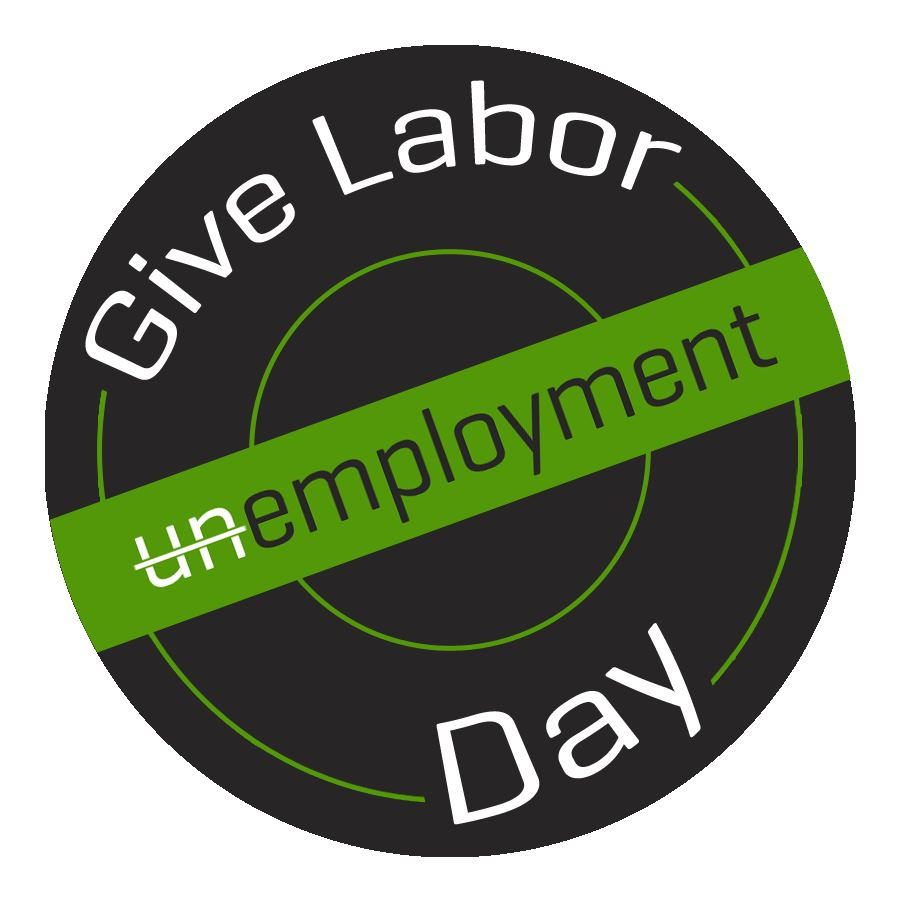 The Give Labor Day logo.