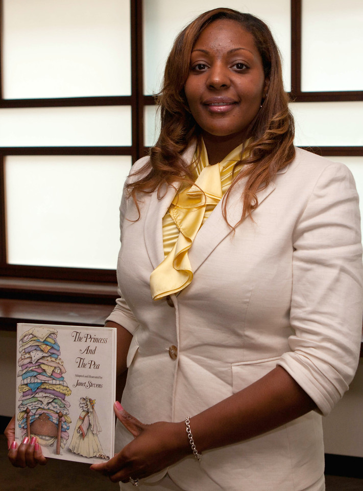 Nyesha Jackson-Cavil recommends The Princess and the Pea as one of her favorite childhood stories.