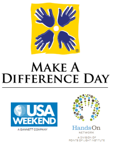 Make a Difference Day logo