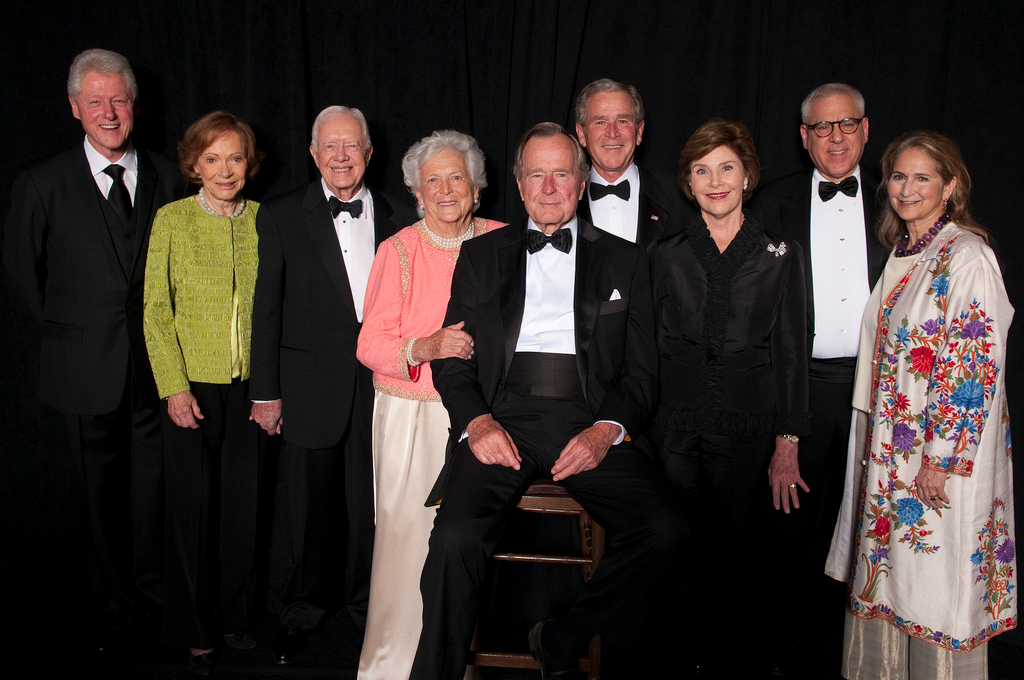 Points of Light Tribute To President bush