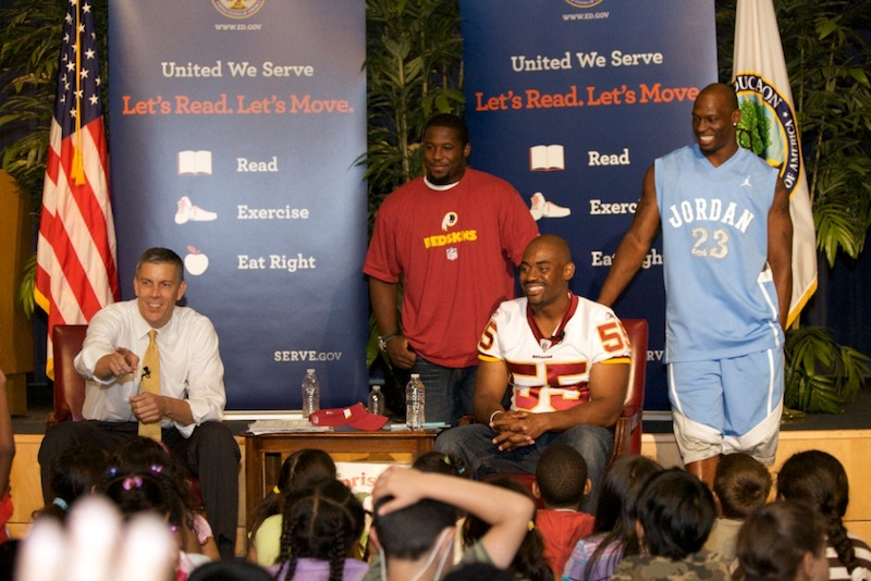 Let's Read! Let's Move! AD & Chris Draft