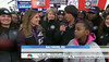 NBC Today Show host Natalie Morales joins Corporation for National and Community Service CEO Wendy Spencer and Baltimore Mayor Stephanie Rawlings-Blake as she announces a friendly wager with the mayor of San Francisco for the upcoming Super Bowl XLVII in New Orleans.