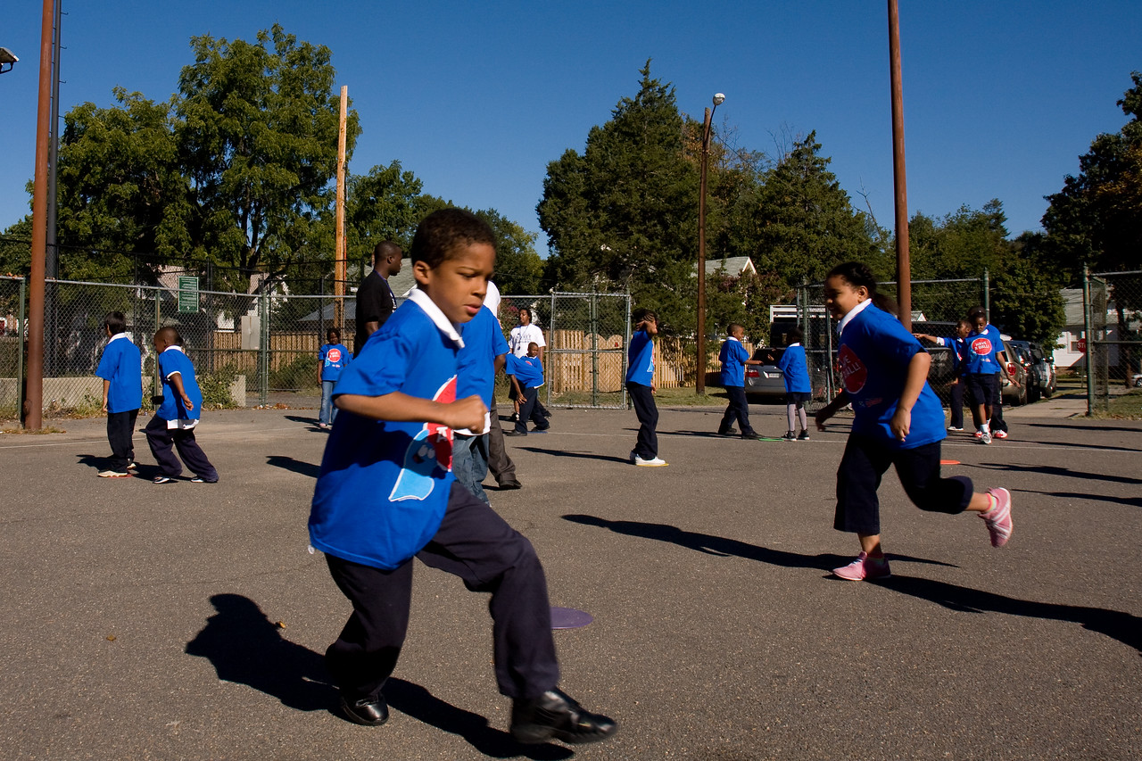 Getting kids outside to play is a great way to integrate healthy habits into their daily lives.